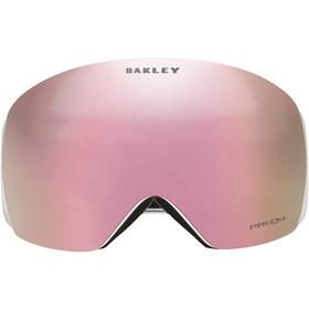 Oakley Flight Deck Gogle Mężczyźni, matte white/w prizm hi pink iridium